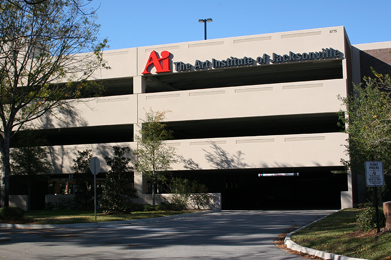 Art Institute of Jacksonville Parking Structure