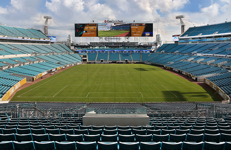 EverBank Field Improvements