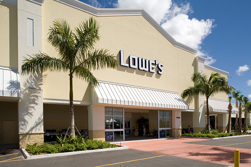 LOWE'S HOME IMPROVEMENT STORES